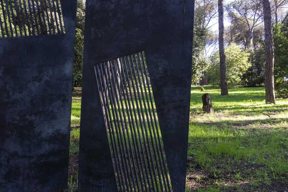 Parco di Scultura di Villa Glori: Linea, Nunzio