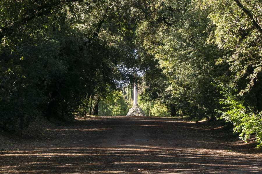 Villa Glori Roma: colonna commemorativa Fratelli Cairoli