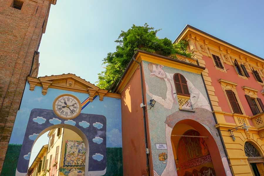 Arte urbana a Dozza