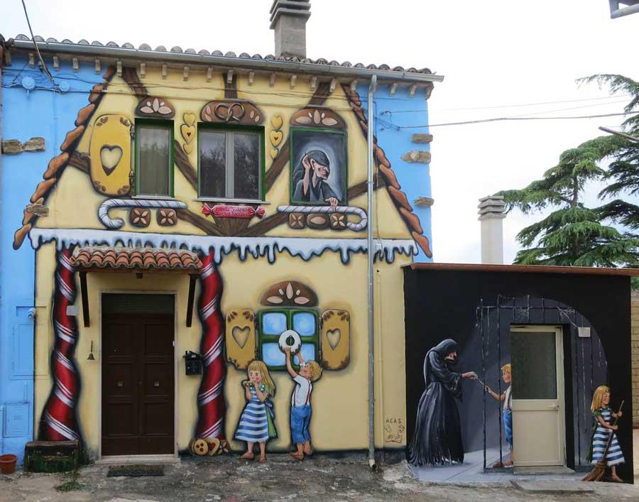Sant'Angelo il Paese delle Fiabe, Viterbo