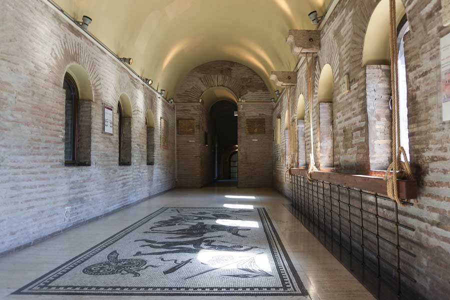 Museo delle Mura: sala interna