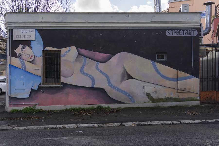 Street art a Roma: Quadraro