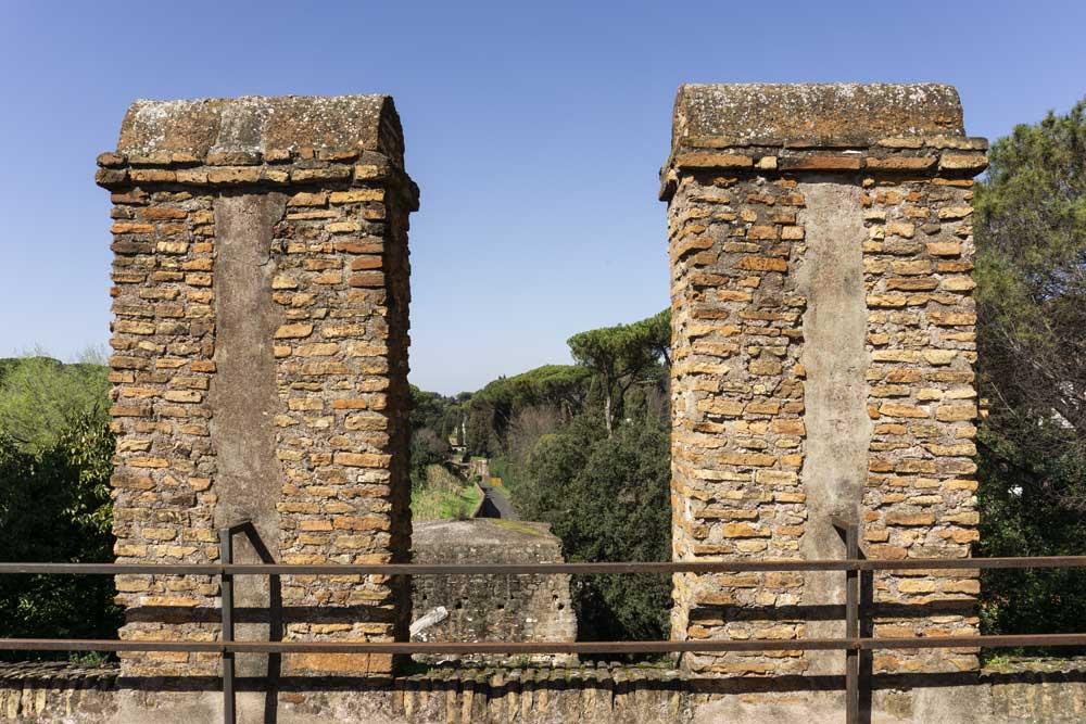 Musei gratis a Roma: Museo delle Mura. Vista dalla terrazza