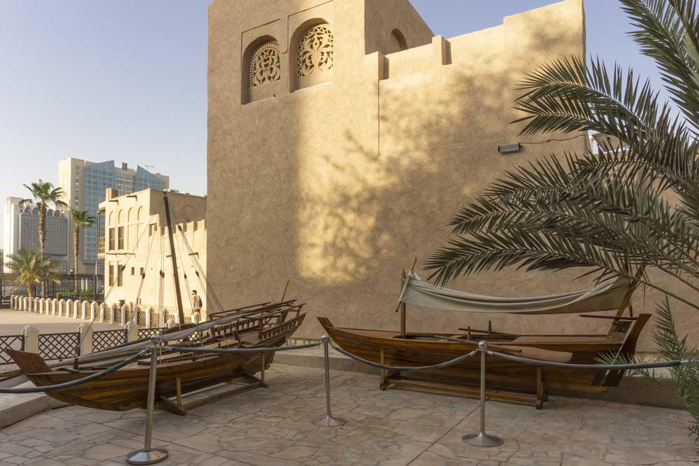Dubai, Al Fahidi e imbarcazioni tradizionali