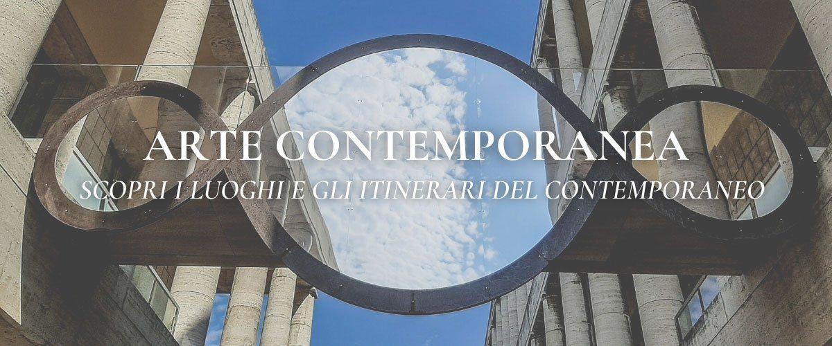 itinerari legati al contemporaneo con una guida turistica specializzata